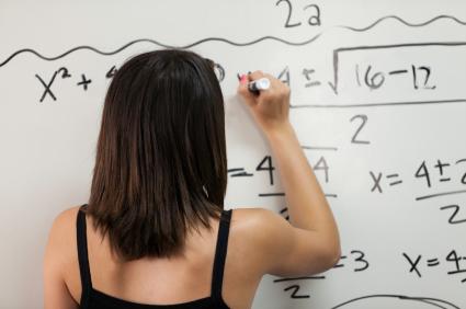 Kid Smart Education Student Solving Equations